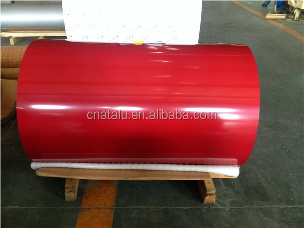 Color Painted Aluminum Roofing Sheet Coil With Factory