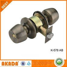 High Quality Iron Cylindrical Door Knob