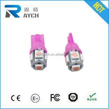 10x T10 LED LIGHT BULB PARKER - 5SMD - 5050 WHITE LAMP - HOLDEN Yess