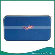 Portable Blue Plastic 80 Disc CD DVD Storage case