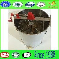 hot sale stainless steel 4 frame manual honey extractor with hot sale