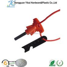 Dongguan Yikai Mini Fire Starter Lighter Steel and Flint+Whistle+ Ruler Camping Survival BBQ,fire flash flint