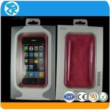 transparent foldable plastic mobile phone storage packaging box
