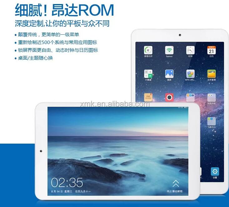 cheapest tablet onda v819i 8inch Intel Z3735G Quad Core two camera ...