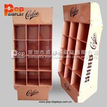 retail vitamin cardboard counter display