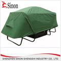 shenzhen ejército utiliza poste de aluminio plegable carpa de camping