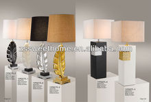2013 hot design electric modern home table lamp(11P022TL-4)
