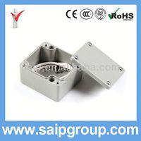 china waterproof aluminium project box manufacturer 64x58x35mm