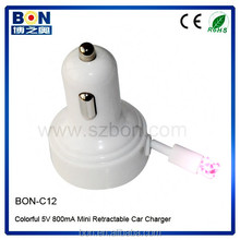 usb multi charger data cable smart phone charger usb car charger cigarette lighter adapter