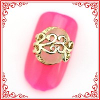 RH264 Luxurious Jewellery Round Bead Diamond Pink Cat Eyes 3D Nail Art Products