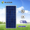 Bluesun logo printed Brand High quality poly 80w solar panel 100W