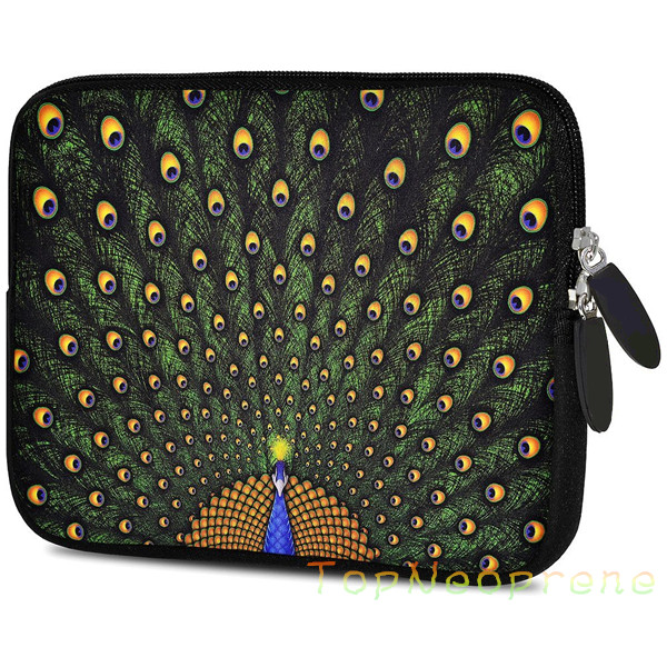 "Neoprene laptop case sleeve cover zipper bag 9.7"" 10"" 10.1"" 10.2"" inch for ipad samsung dell lenovo"