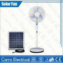 16 inch 12v battery electric stand fan in india emergency fan with timer