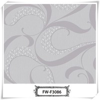 Classical design good quality sound-absorbing closeout wall paper for home decoration