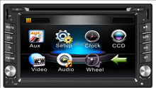 """6.2"""" Screen Size and Dashboard Placement car dvd player for Toyota Hilux 2001-2010"""