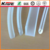 white silicone extruded u rubber products