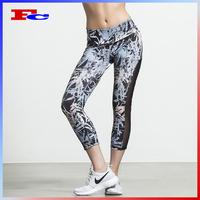 High Quality Custom Sublimation Printed Women Fitness Yoga Pants