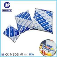 PE rectangular soft freeze gel pack for food transportation