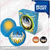 orange/blue/black colors neoprene beach soccer /customized soccer ball / football