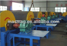 2014 New Mining Equipment Wet magnetic separator iron sand