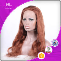 OEM durable silk top full lace wig with thin skin