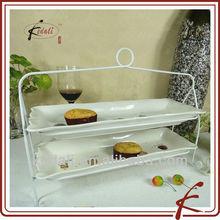 ceramic cake plate holder