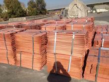 Electrolytic copper cathode grade A (Copper content 99.99%) at $5,200 per ton CIF