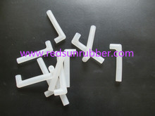 custom shape clear silicone rubber tube