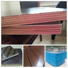 shandong 18mm 15mm two times red film faced shuttering plywood marine
