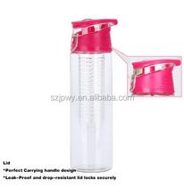 China supplier 32oz water bottle joyshaker disposable Tritan Plastic & Leak Proof fruit infuser water bottle infuser