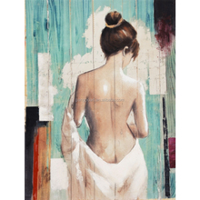 hot sexy girl 2015 realistic nude oil painting 39630