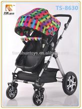Y gran precio razonable cuna de estilo de aluminio y aleación de bebé cochecito, silla de paseo para los bebés hecho en china