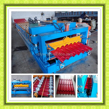 Roof Glazed Tile Cold Roll Forming Machine For Nigeria