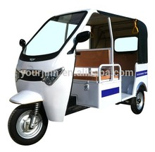 1000w battery operated taxi passenger tricycle from China