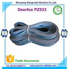 Deerfos PZ533 Zirconia Sanding Belts for Metal Polishing Machine