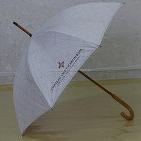 hand crutch snowing christmas tree umbrella