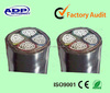 0.6/1KV Aluminum Conductor XLPE Insulation PVC Sheath YJLV Cable