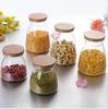 Haonai designed antique high quality glass jar with lid