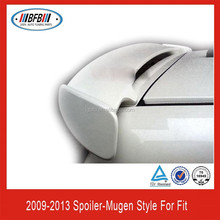 ABS Rear Roof Wing Spoiler For Honda Jazz Fit Mugen Style Spoiler