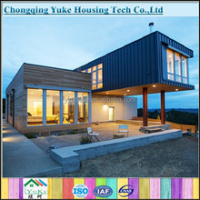 China most attractive luxury prefab steel villa for sale
