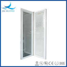 Doors with blinds inside
