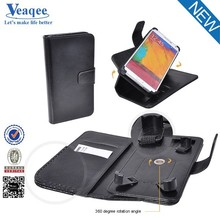 Veaqee best selling products flip leather case cover for samsung s6