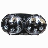 Suparee Moto Dual Headlights Road Glide Led Headlamp For Harley David
