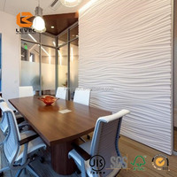 3D Carved Panel Wall Covering Waterproof Board