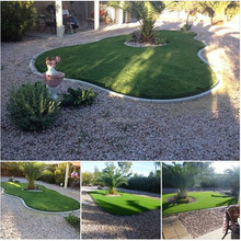 uv stability synthetic artificial fake turf for home garden
