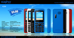 2015 alibaba express new products hot sale super low price 1.8inch bar type mobile phone K206