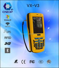 V3 WinCE 1D wireless PDA barcode scanner with display