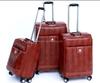 PU goods price safari trolley bags