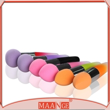 MAANGE New 2015 Hot sale lovely fashion latex free cosmetic sponge, Makeup-Power-Puff / Cosmetic Puff, cotton pad cosmetic puff