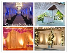wedding arch,backdrop decoration,draping walls